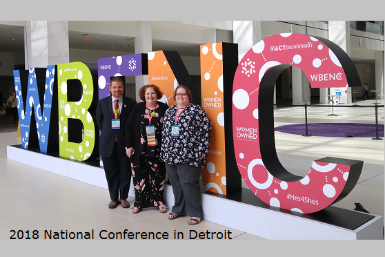 Photo of Abator at WBENC 2018